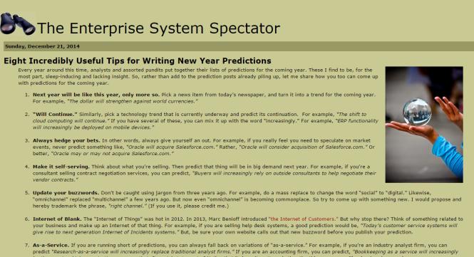 Enterprise System Spectator